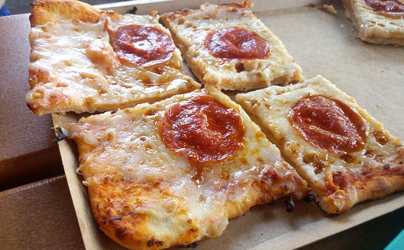 Pizza is not part of the Best Restaurants at Animal Kingdom