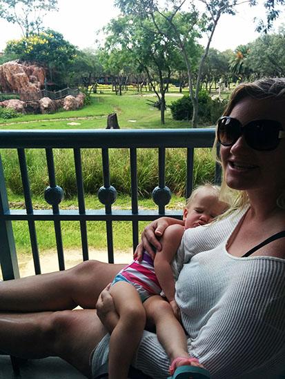Animal Kindgom Lodge Restaurant Views