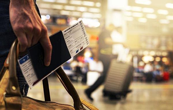 Anti pickpocket boarding pass