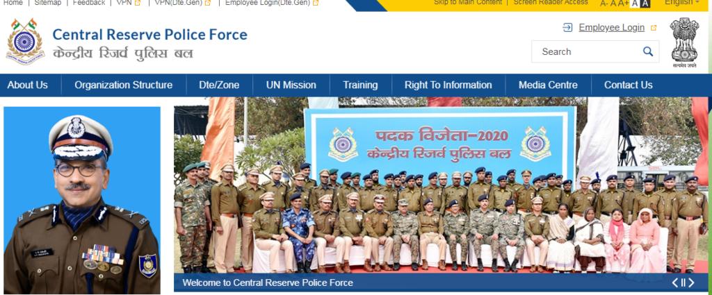 CRPF Head Constable Recruitment