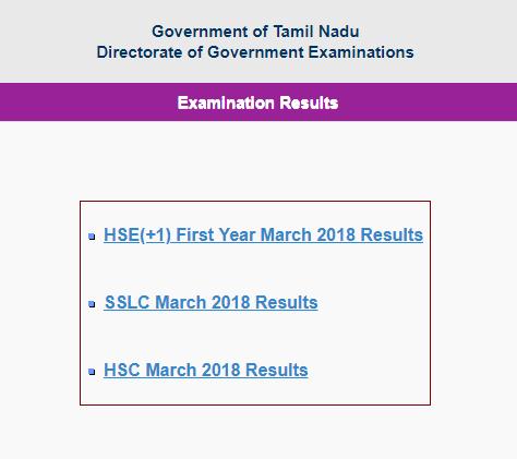 Tamil Nadu 10th Result