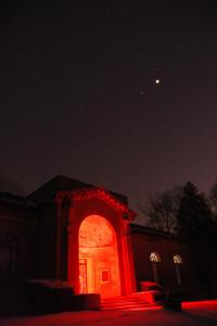 Perkins Observatory at Night