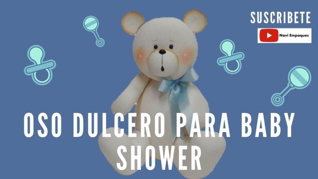 Oso Dulcero para Baby Shower.