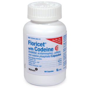 fioricet with codeine
