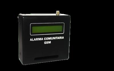 COMUNICADO 007 ALARMA COMUNITARIA GSM TALI01 DESCONTINUADA