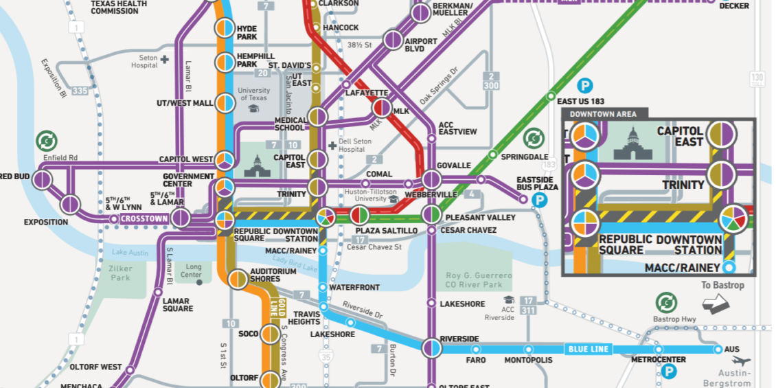 Austin Project Connect System Map