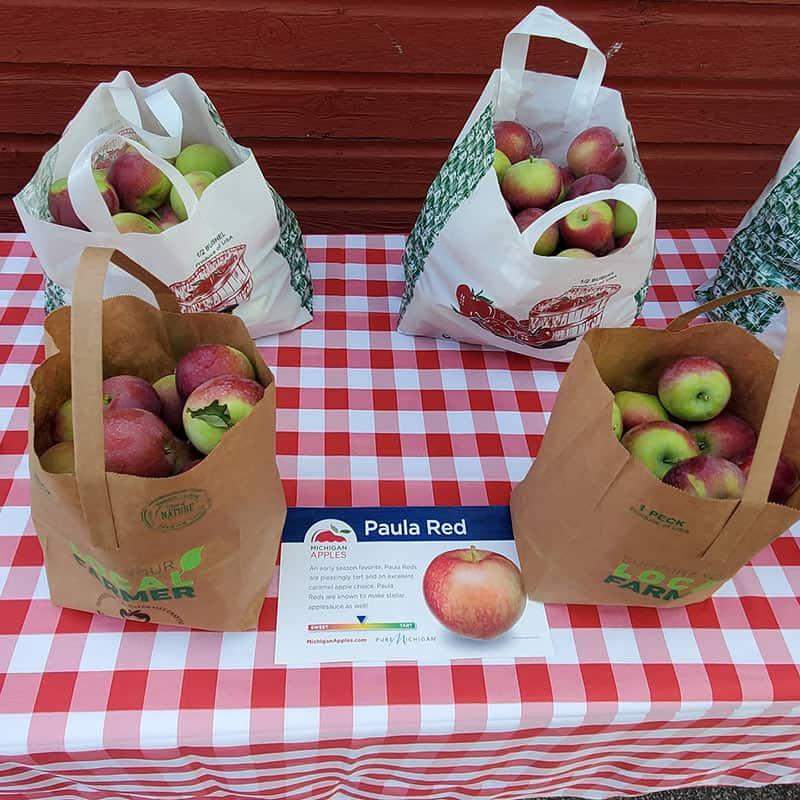 BrixStone Farms Paula Red Apples