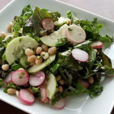 White Bean Kale Salad Recipe