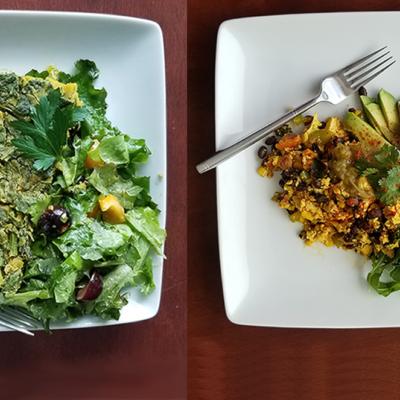 Two Make-Ahead Vegan High Protein Breakfasts