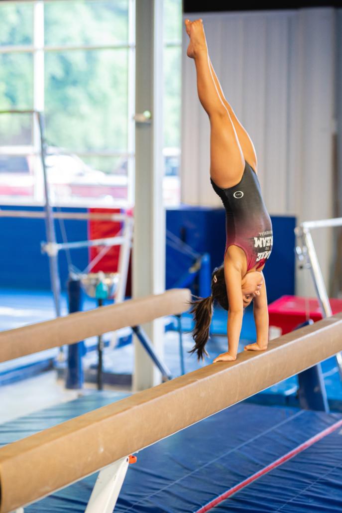 Universal Gymnastics Balance Beam