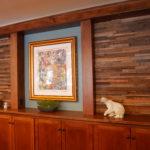 tile reclaimed wood paneling