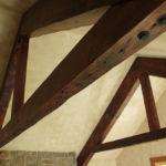 showroom reclaimed douglas fir timber