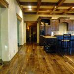 Dark douglas fir timbers reclaimed wood