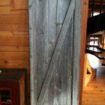 gray barn door