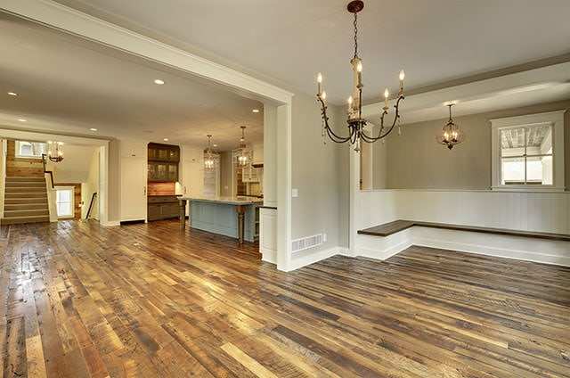 oak reclaimed wood flooring