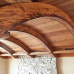 Arched timber ceilings