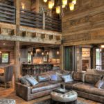 Wall paneling made of weathered antique reclaimed wood