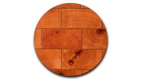 Red end-grain