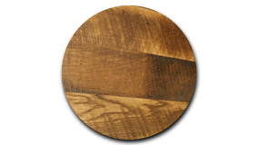 Close up of oak panel