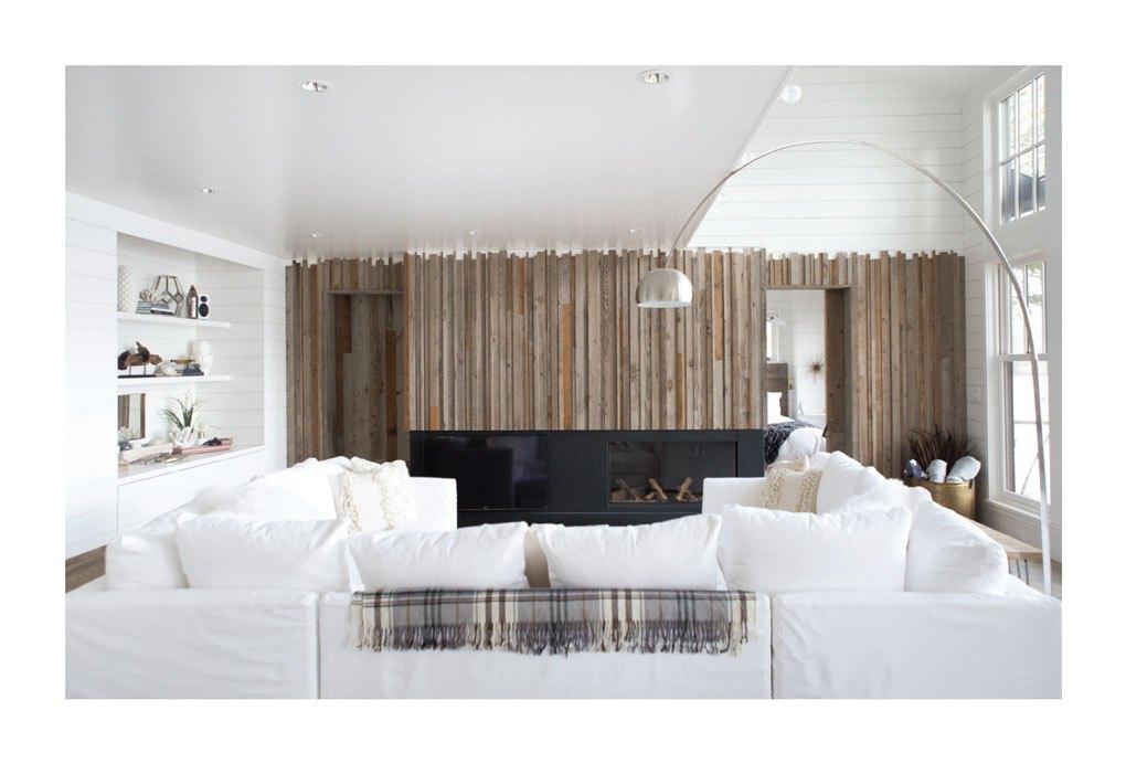 Transformed Cabin Living Room
