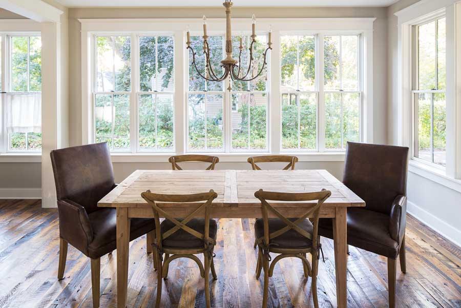 Dark antique oak wood flooring by Manomin Resawn Timbers