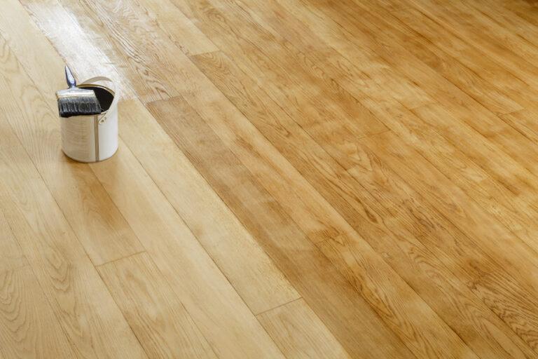 Restore a hardwood floor; oak floor restoration