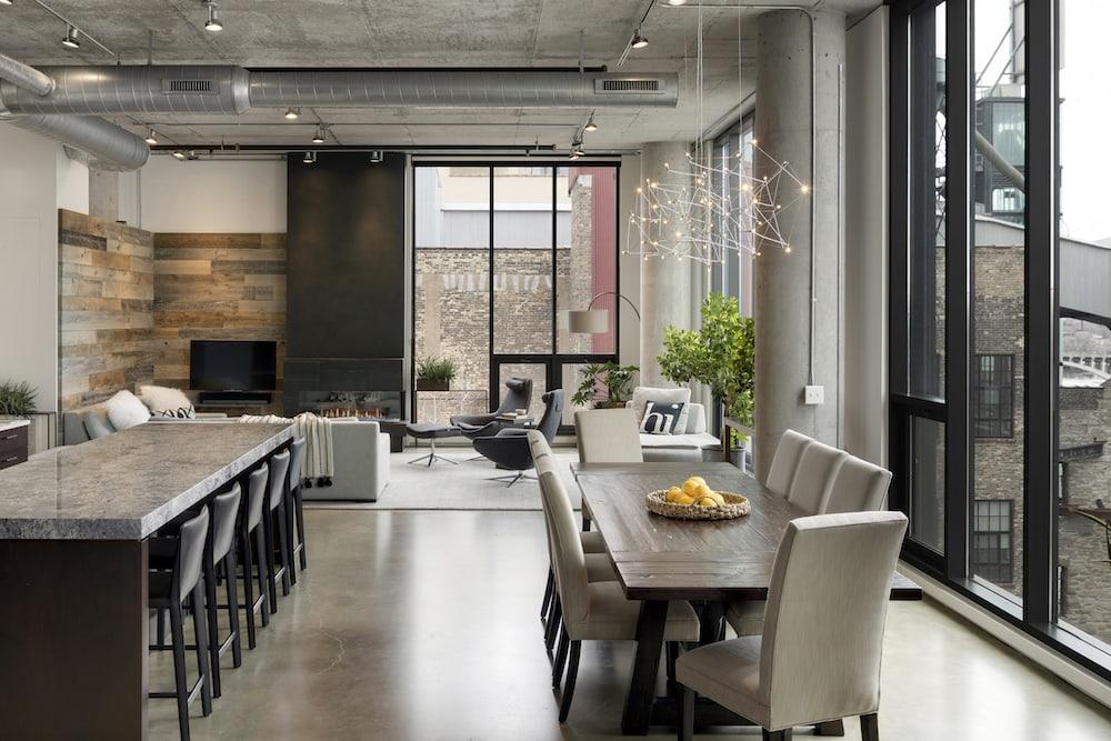 mill district loft Minneapolis
