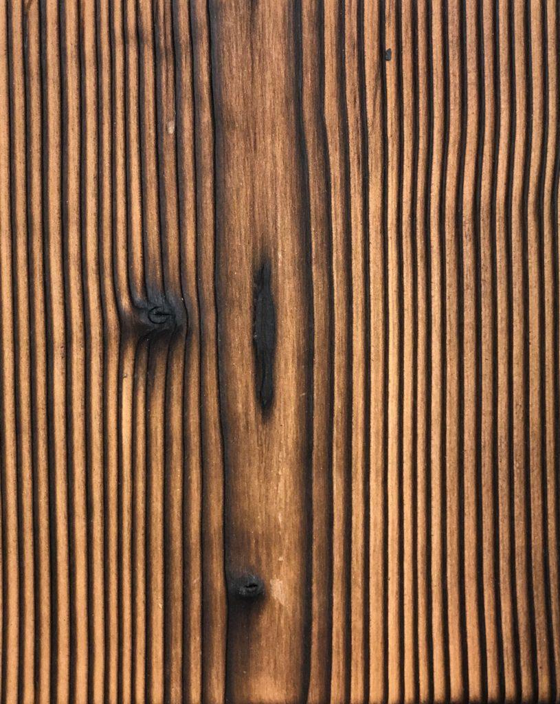 reclaimed wood flooring.