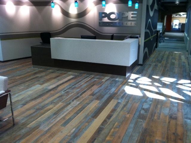 oak reclaimed hardwood flooring