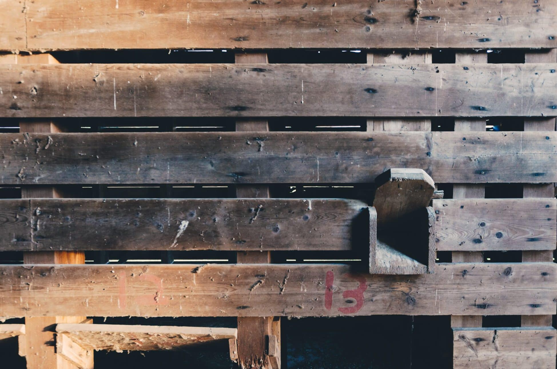 DIY reclaimed wood project