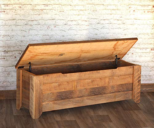 reclaimed wood chest