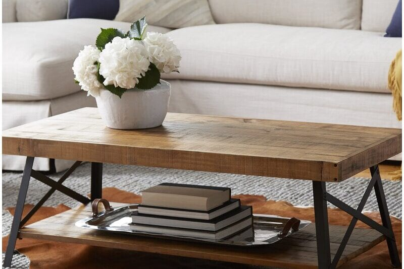 Reclaimed Wood Coffee Table: Where To Get One & What To Look For