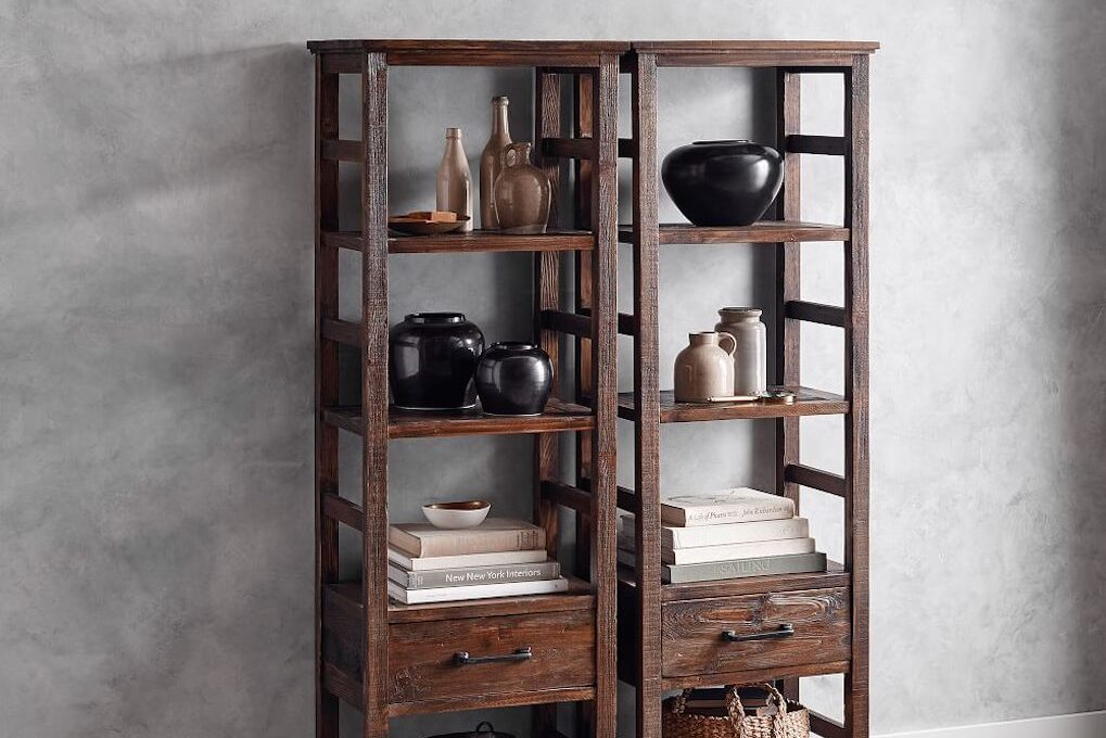 4 Inspiring Reclaimed Wood Bookcases & Where To Get Yours!