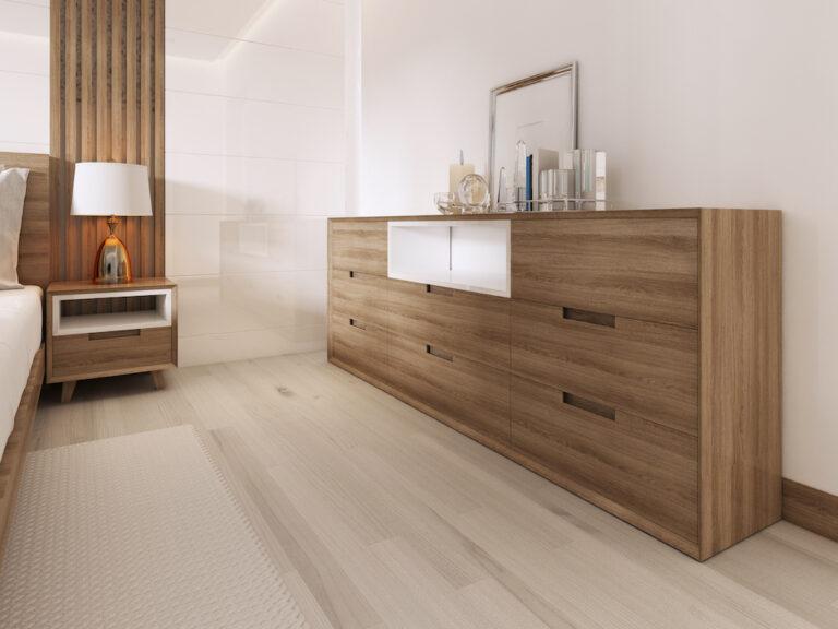 reclaimed wood dresser bedroom
