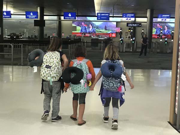 International Travellers arrive in New Zealand!