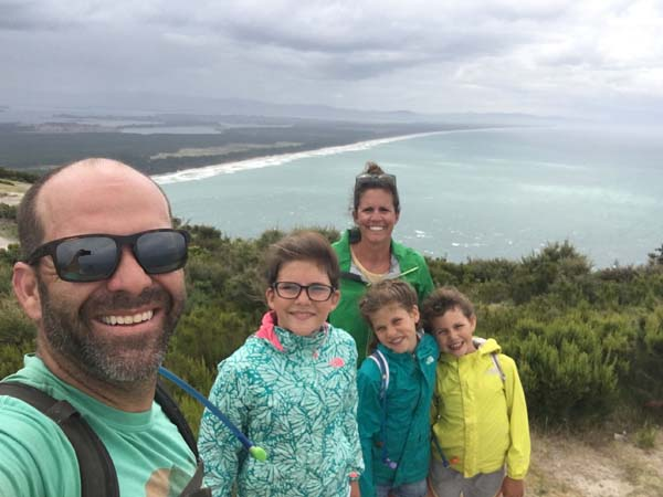 """Small """"walk"""" to the top of the mountian. Mt. Maunganui"""