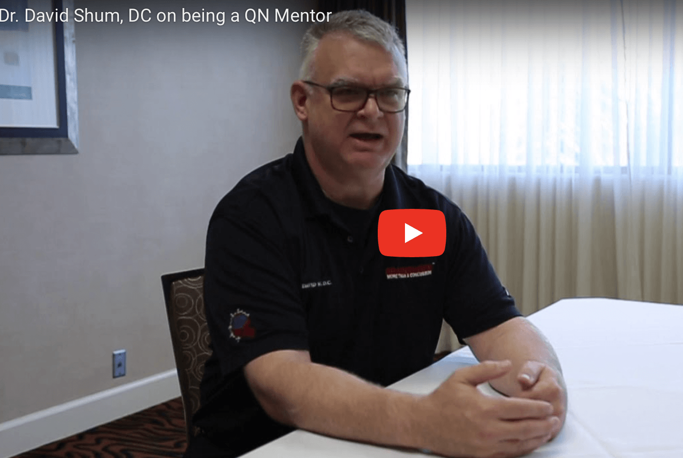 Playing an important role as a QN Mentor
