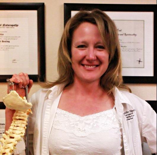 Dr. Jennifer Hartley, D.C., QNCP