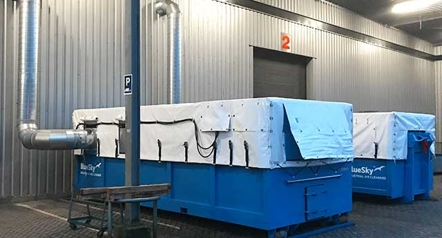 mmobile dust collector rental