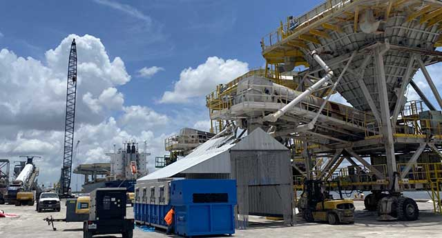 mobile dust-collector rentals for cement industry