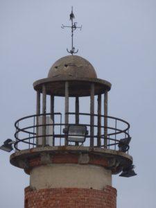 1940 Lisboa Marina Lighthouse close-up