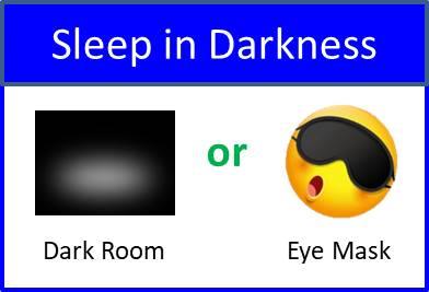 Secret of Aging Sleep in Darkness