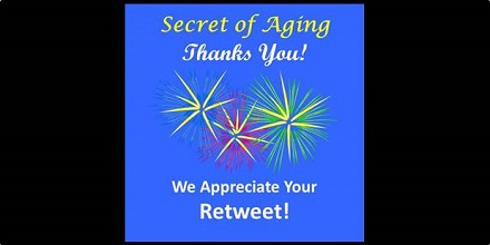 Secret of Aging Thanks You!