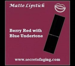Berry Red with Blue Undertone