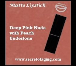 Deep Pink Nude with Peach Undertone