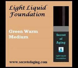 Deep Medium with Neutral Green Warm Undertone