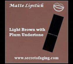 Light Brown with Plum Undertone