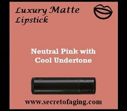 Neutral Pink with Cool Undertone