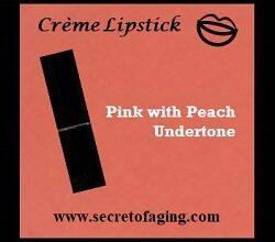 Pink with Peach Undertone