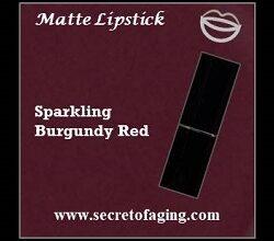 Sparkling Burgundy Red